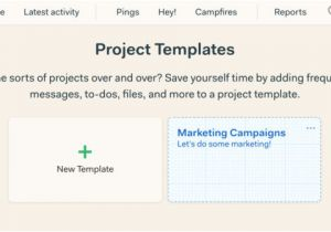 Basecamp Project Templates Basecamp Project Template Examples Templates Resume