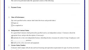 Basic Contract Of Employment Template 8 Basic Contract Of Employment Template Budget Template
