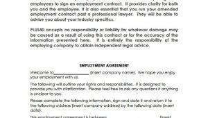 Basic Job Contract Template Sample Basic Contract Template 18 Free Sample Example
