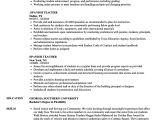 Basic Knowledge Of Spanish Resume Spanish Teacher Resume Samples Velvet Jobs
