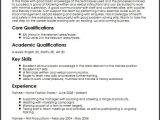 Basic Knowledge Resume Trainee Cv Sample Myperfectcv