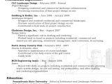 Basic Landscaping Resume Be One Landscaping Resume Samples