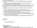 Basic Linux Resume solaris Linux Administrator Resume Nj