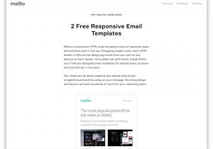 Basic Responsive Email Template 32 Free Responsive HTML Email Templates 2019 Colorlib