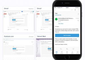 Basic Responsive Email Template Things I 39 Ve Learned About Responsive Email Design Psd