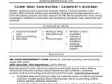 Basic Resume Building Sample Construction Resume Template 11 Free Documents