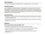 Basic Resume for A Young Person Sample Cv for Young People