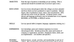Basic Resume format Basic Resume Samples Examples Templates 8 Documents