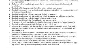 Basic Resume Goals Basic Resume Sample 8 Examples In Pdf Word