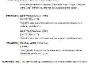 Basic Resume Images Microsoft Word Resume Template 49 Free Samples