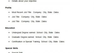 Basic Resume In Word 70 Basic Resume Templates Pdf Doc Psd Free