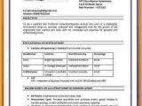 Basic Resume India 7 Cv format Pdf Indian Style theorynpractice