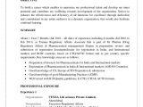 Basic Resume India Qa Resume Sample India Resume Resume format for