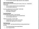 Basic Resume List Basic Resume Template First and Last Name Street Address