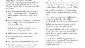 Basic Resume Rules Basic Resume Sample 8 Examples In Pdf Word