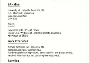 Basic Resume Template for High School Graduate Basic Resume Templates for High School Students Best