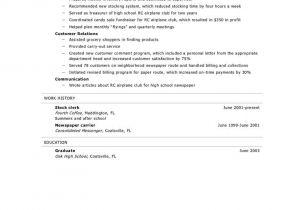 Basic Resume Template for High School Graduate Resume for High School Graduate Best Resume Collection