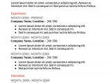 Basic Resume Template Google Docs Google Doc Resume Templates