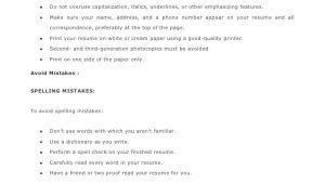 Basic Resume Tips Most Important Basic Resume Tips 1