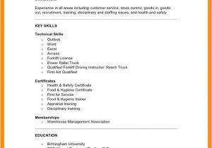 Basic Retail Resume Examples 9 10 Basic Resume Examples for Retail Jobs