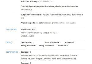 Basic Sample Resume 70 Basic Resume Templates Pdf Doc Psd Free