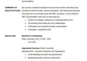 Basic Sample Resume Basic Resume Template 70 Free Samples Examples format