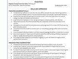 Basic Skills for Resume Basic Resume Example 8 Samples In Word Pdf