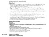 Basic software Knowledge Resume Simulation Engineer Resume Samples Velvet Jobs