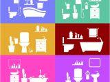 Bathroom Templates Free Download Bathroom Vector Design Templates Vector Free Download