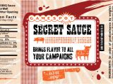 Bbq Sauce Label Template 1000 Images About Miniature Food Labels On Pinterest