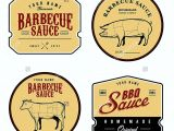 Bbq Sauce Label Template Bbq Sauce Label Template Templates Resume Examples