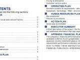 Bdc Business Plan Template 50 Best Free Business Plan Templates