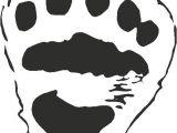 Bear Footprints Template Polar Bear Paw Print Template Search Results Calendar 2015