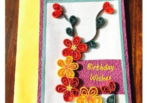 Beautiful and Easy Greeting Card Bonitahub Handmade Quilling Birthday Card Buy Online at