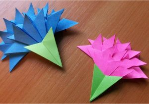 Beautiful and Easy Greeting Card Papercraft origami Flowers How to Make Easy Paper Flowers