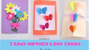 Beautiful and Easy Mother S Day Card 3 Easy and Beautiful Mothers Day Cards for Kids Mothers
