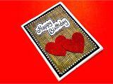 Beautiful and Simple Birthday Card Latest Handmade Greeting Card for Birthday Beautiful