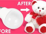 Beautiful Card Banane Ka Tarika How to Make Teddy Bear with Cotton Bulb Teddy Bear Making with Cotton