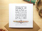 Beautiful Card for Raksha Bandhan Card for Raksha Bandhan Card Includes Rakhi Happy Raksha