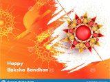 Beautiful Card for Raksha Bandhan Happy Raksha Bandhan Greeting Card Design with Beautiful
