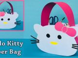 Beautiful Card Kaise Banate Hain Diy Hello Kitty Paper Bag How to Make A Paper Bag Easy and Cute Paper Gift Bag