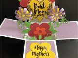 Beautiful Card Making On Mother S Day Amazon Com Mothers Day Card Handmade Card Flower Card