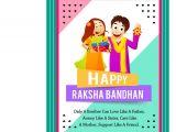 Beautiful Card On Raksha Bandhan Happy Raksha Bandhan Bhaiya Greeting Card