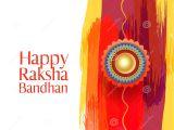 Beautiful Card On Raksha Bandhan Happy Raksha Bandhan Indian Brother and Sister Festival