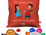 Beautiful Card On Raksha Bandhan Indigifts Raksha Bandhan Rakhi Gifts Hamper Pyara Bhaiya