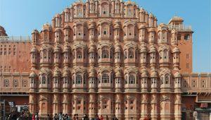 Beautiful City Jaipur Cue Card Hawa Mahal Wikipedia