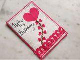Beautiful Handmade Card for Birthday Particular Craft Idea Homemade Greeting Cards