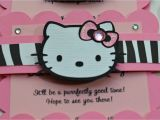 Beautiful Invitation Card for Kitty Party Hello Kitty Birthday Party Invitations with Images Hello