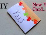 Beautiful New Year Card Making Simple & Beautiful New Year Card Making Happy New Year