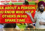 Beautiful Person Cue Card Follow Ups Talk About A Person who Help Others In Spare Time